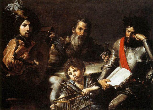 Οι τέσσερις εποχές του ανθρώπου - 1626-28  Εθνική πινακοθήκη Λονδίνο