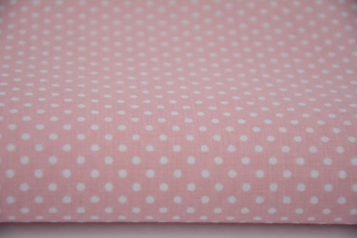 14. Mini polka dots on light pink