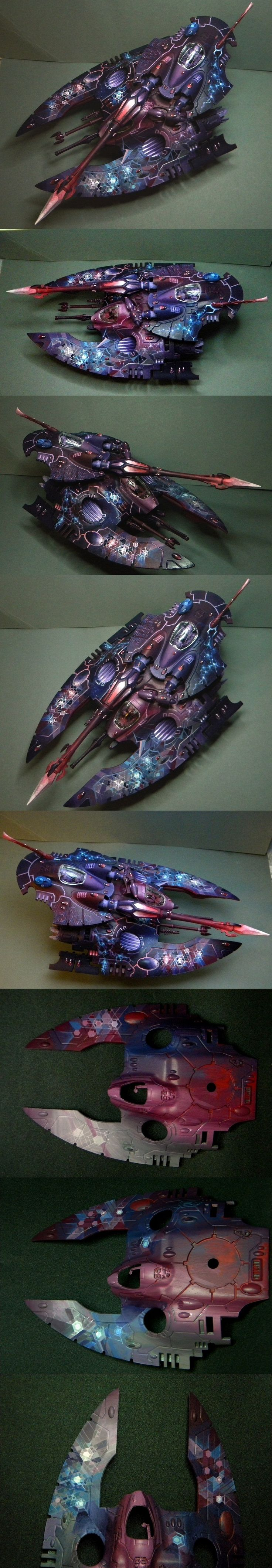 40k - 'Dark Crystal' Eldar Fire Prism by hors