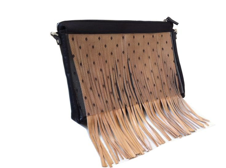 Fringe clutch, especially made for TLV fashion week Summer 2013. Order at info@collecte.co.il