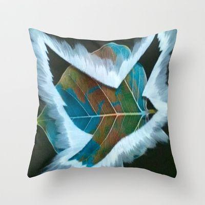 ThePeaceBombs - Earth Throw Pillow by ThePeaceBombs - $20.00 #pillows #art #artwork #shopping #home #decor #earth  http://society6.com/ThePeaceBombs www.miaaw.com https://www.facebook.com/marishags