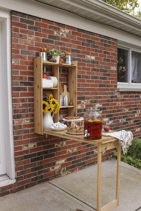 Fall Decorations For A Harvest Festival On The Patio