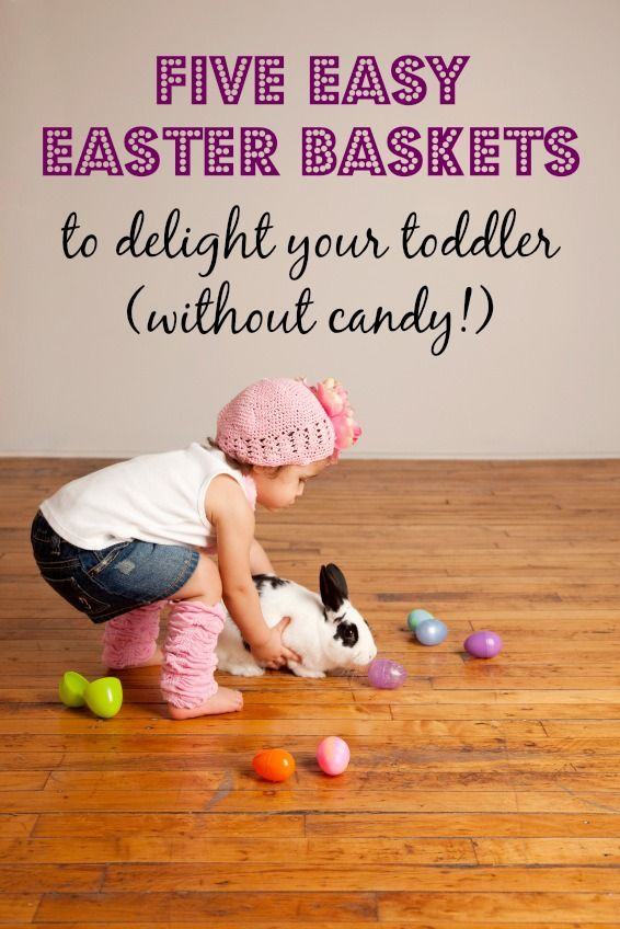 Best 25 easter baskets for toddlers ideas on pinterest easter 5 easy easter baskets for toddlers negle Images