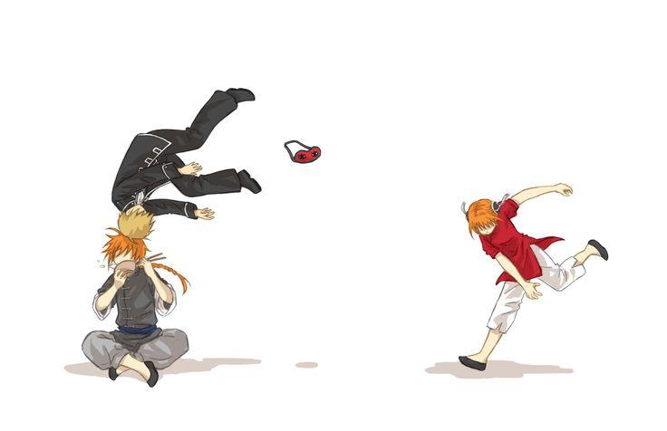 Okita / Kamui / Kagura