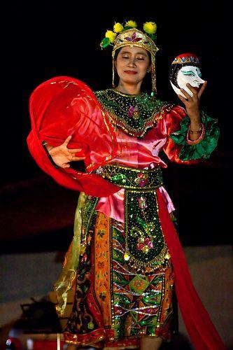 Topeng Betawi Dance @Jakarta - Indonesia