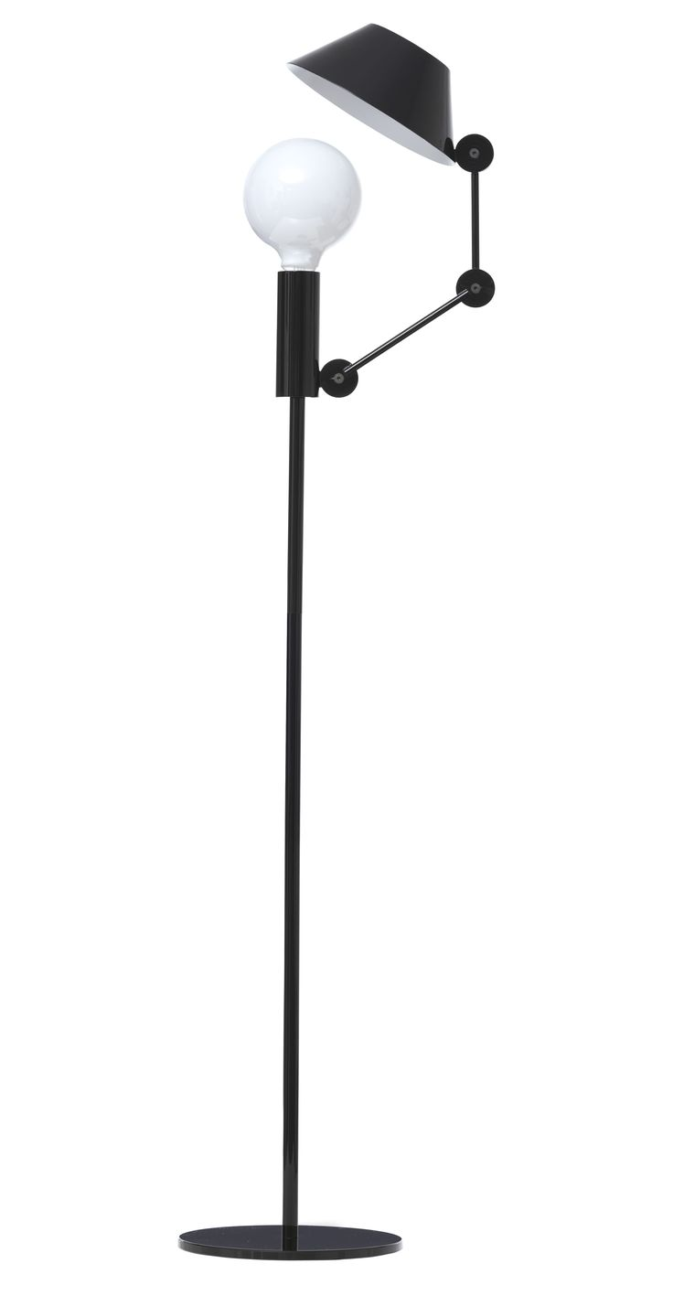 Threshold torchiere floor lamp textured bronze 65 - Mr Light Tall Floor Lamp H 135 Cm
