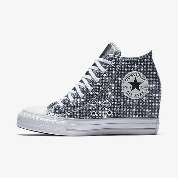 Custom Wedge Converse Chuck Taylor All Star Selene, Converse