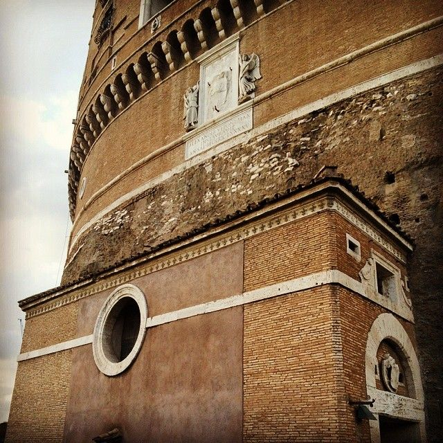 Climbing the Castel again for the lols #CastelSantAngelo #Rome #Italy #Nostalgia #ClimbAllTheThings #RescueCaterinaSforza #KillTheBorgias
