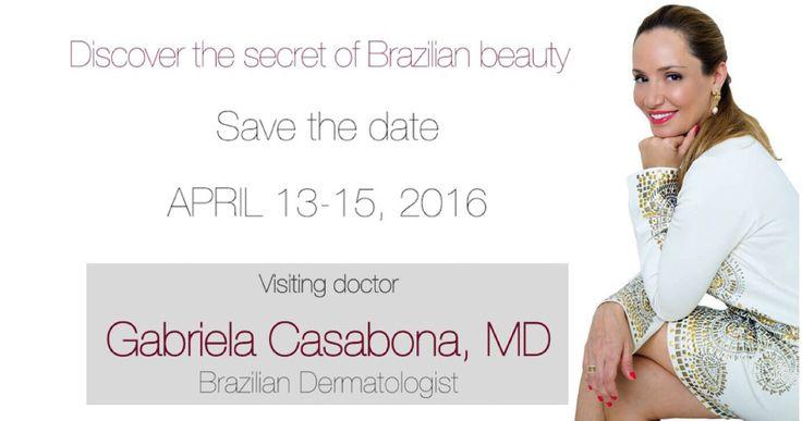 Discover the secret of Brazilian beauty   Apr 13-15, 2016