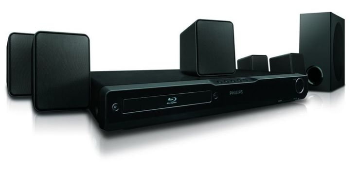 Home Theater Systems: Philips Hts3051bv Blu-Ray Home Theater System BUY IT NOW ONLY: $239.99