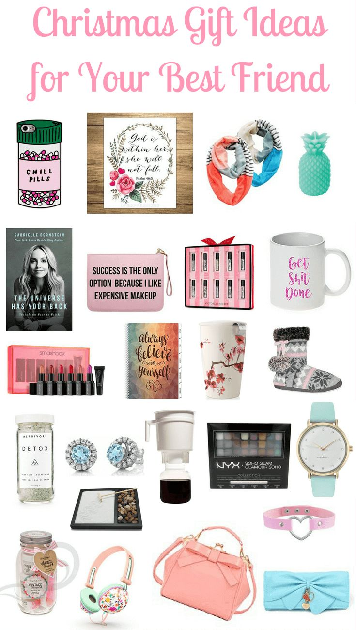 Christmas gift ideas for your female friends!