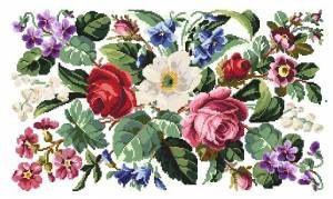 Gallery.ru / Victorian flowes - Викторианский букет (процесс) - altaelena