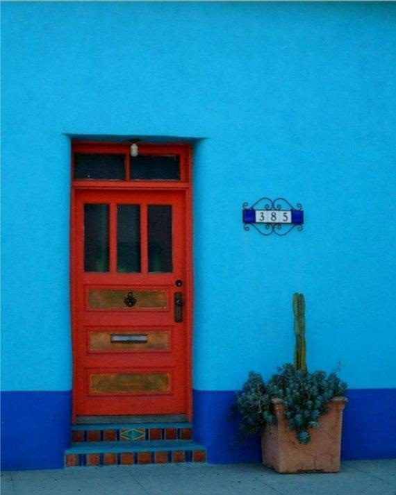 Red Door Tucson Adobe By AngiesIris