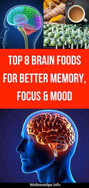 Top 8 Brain Foods For Better Memory, Focus & Mood 1
