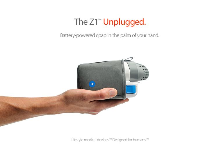 battery powered sleep apnea machine