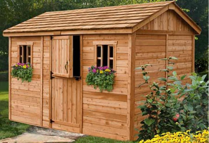 Details about Outdoor Living Today 12X8 Cabana Garden Shed ... on Outdoor Living Today Cabana id=76342