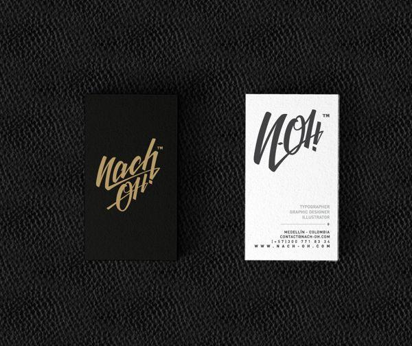 NACH OH! Personal Branding by NACH OH!, via Behance
