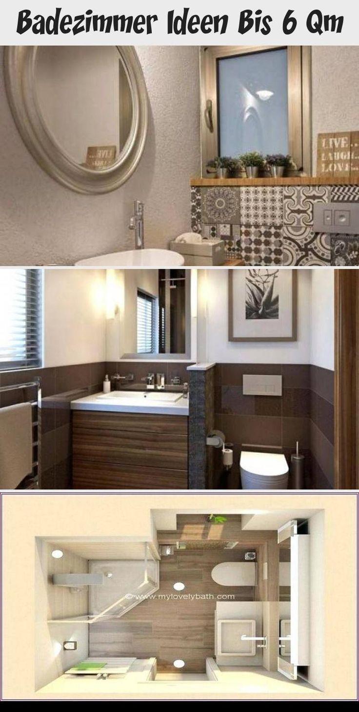 Badezimmer Ideen bis zu 6 qm Dekoration Badgestaltung