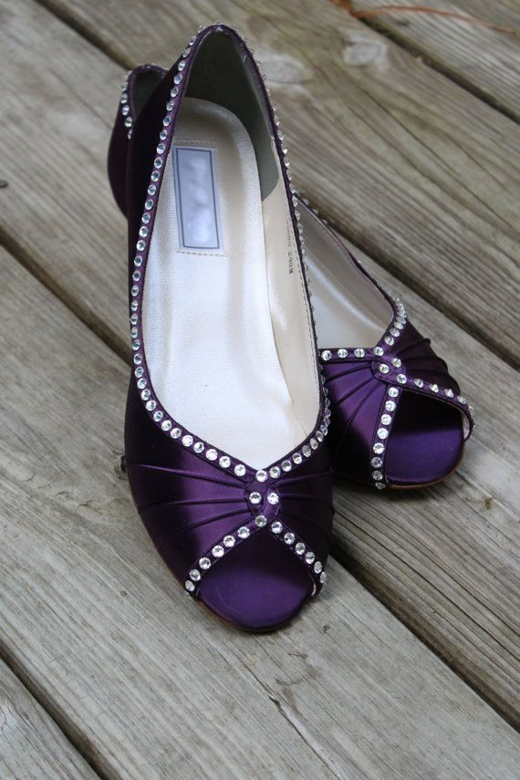 purple wedding shoes low heel 25 best ideas about purple wedding shoes on 6925