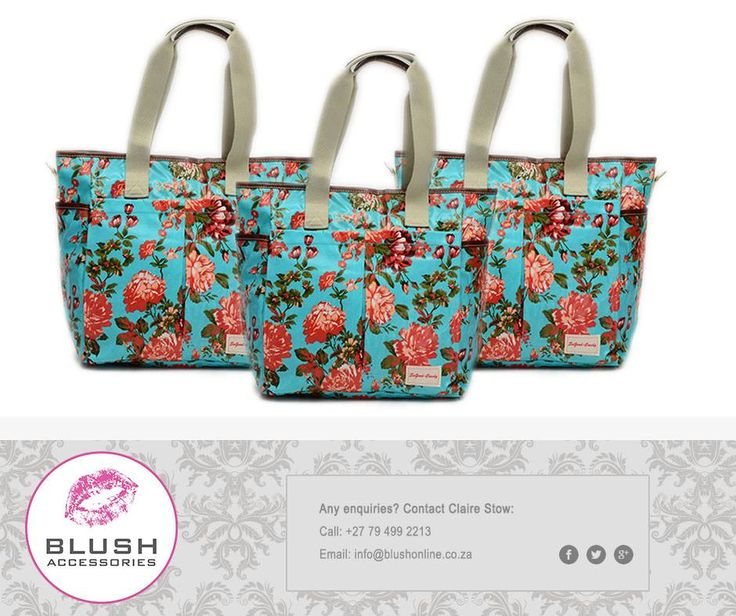 Are you looking for a large and stylish bag that can be worn to the beach yet be suitable for a night out or in the office? Then this beautiful flower print handbag from #Blush is exactly what you need! #beach #handbag #accessories #fashion
