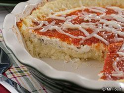 You absolutely have to try Spaghetti Squash Pie, if you love spaghetti. Now, true it's not really spaghetti, it is a vegetable -- but we defy you to close your eyes and see if your taste buds can tell the difference.