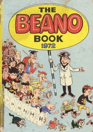 The Beano Annual Christmas I would generally get an annual I loved to read them..