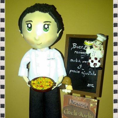 cocinero fofucha
