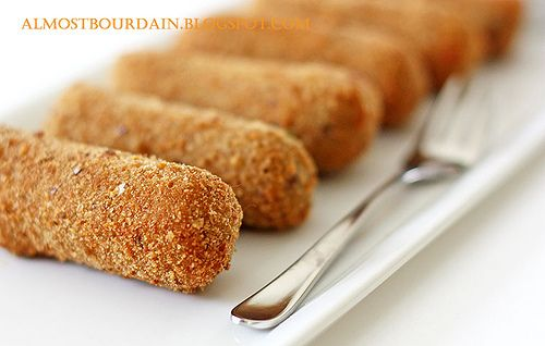 Kroketten (Dutch Croquettes). A secret grandma recipe.