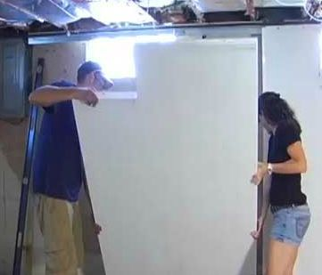 basement finishing basements and do it yourself on pinterest. Black Bedroom Furniture Sets. Home Design Ideas