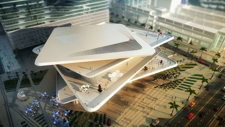 Gallery - FR-EE / Fernando Romero EnterprisE Reveals Latin American Art Museum for Miami - 5