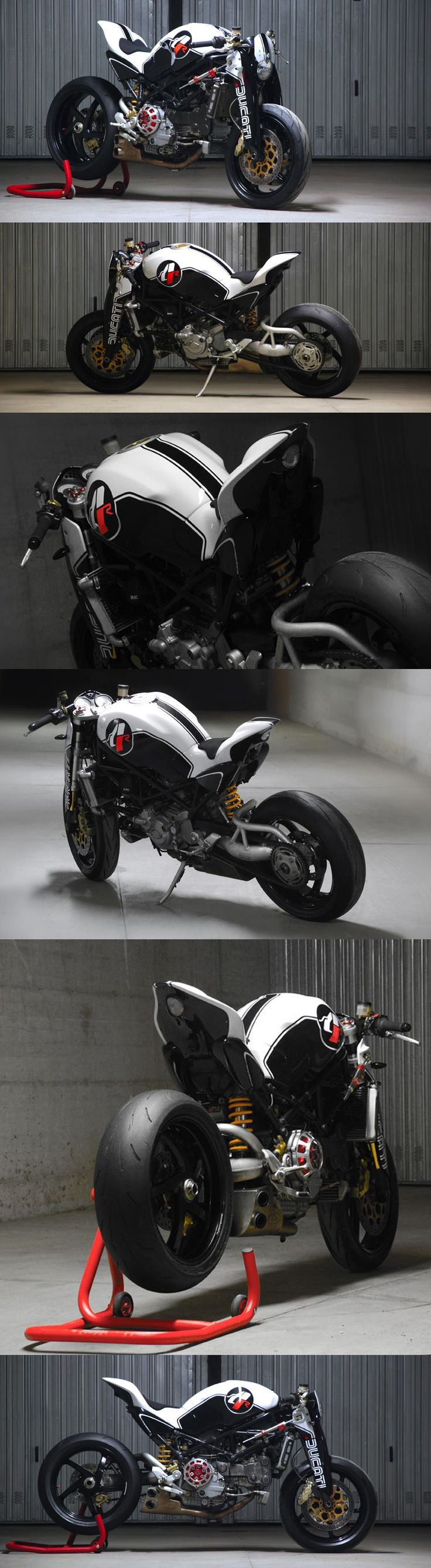 #Ducati Monster MS4R by Paolo Tesio #Ducati