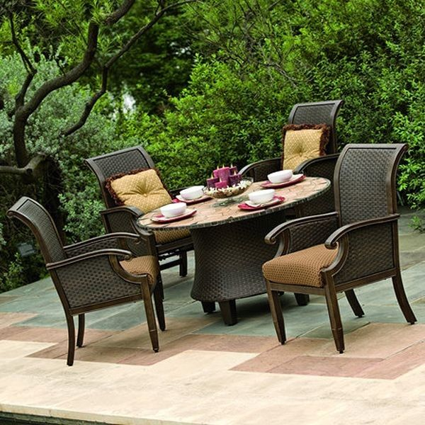 451 best exterior ideas images on pinterest backyard for Outdoor dining sets for small spaces