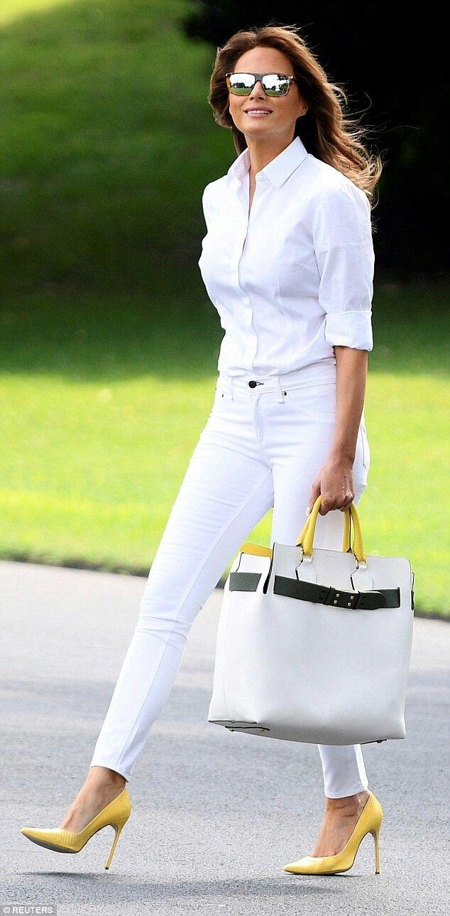 Yellow High heels