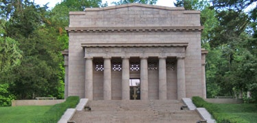 Abraham Lincoln Birthplace, Hodgenville, KY. My senior class picture was taken on these steps.