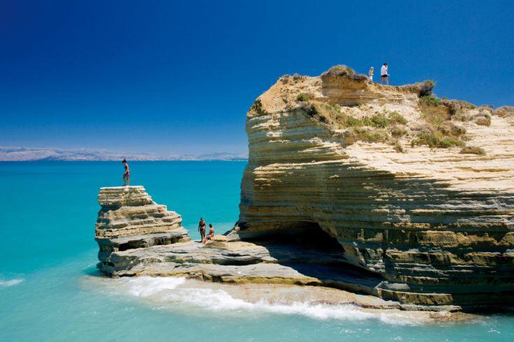 Mandraki beach in Corfu is magical...ask Delfino Blu staff hotel for more information.  #mandrakibeach #corfubeaches #corfu #corfutravel