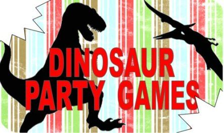 Funtastic Dinosaur Party Games~Don't forget dino-mite personalized napkins to match your theme! #dinosaur #party www.napkinspersonalized.com