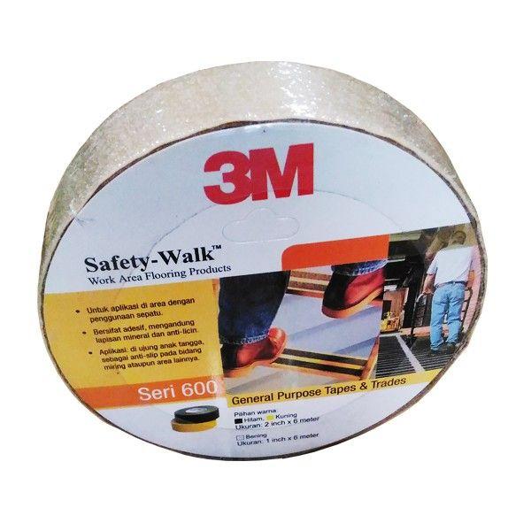 3M 620 Safety Walk Clear (Tape Anti Licin Transparan) - 1 in X 20 ft (6 meter) - Anti Slip Kuat & Terbaik dg Harga Murah.  3M 620 Safety Walk Clear (Transparan) - 1 in X 20 ft (6 meter).  - Tape/Stiker anti slip yang cocok untuk penggunaan pada area anak tangga, area bidang miring pada loading dock atau permukaan lantai lainnya.  http://tigaem.com/perawatan-gedung/1715-3m-620-safety-walk-clear-tape-anti-licin-transparan-1-in-x-16-ft-6-meter-anti-slip-kuat-terbaik-dg-harga-murah.html…