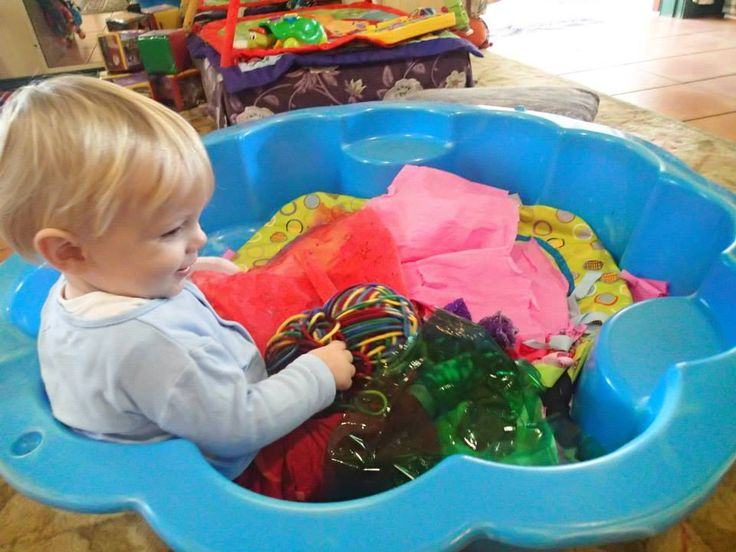 Baby room sensory bath