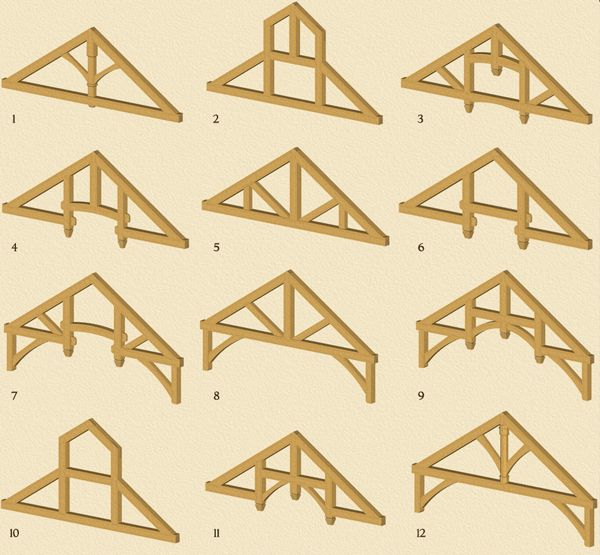 Heavy Timber Trusses/Truss Packages #8 is one we could do.