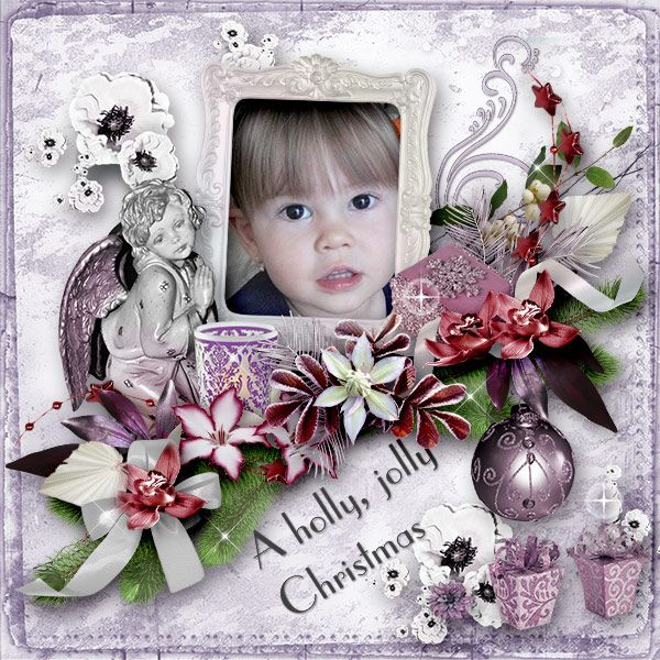 * A Holly Jolly Christmas * by Black Lady Designs https://www.e-scapeandscrap.net/boutique/index.php