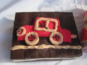 auto ze slaného těsta