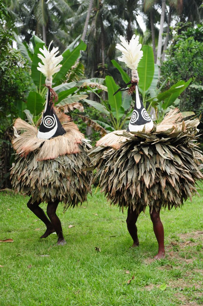 Papua New Guinea   Duk-duk dancers perform during funerals, initiations, and other secret ceremonies. Tolai people, East New Britain Island   ©Geert Henau.