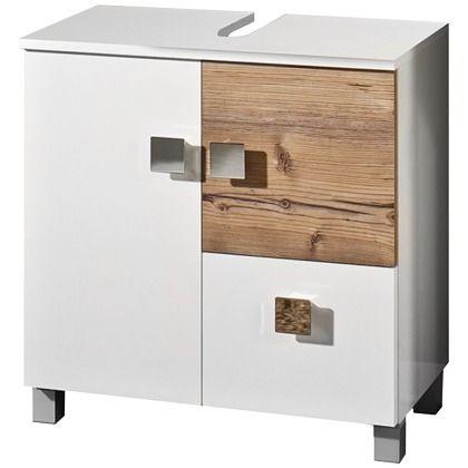 25+ ide terbaik tentang Waschbeckenunterschrank Weiss di Pinterest - badezimmer unterschrank weiss