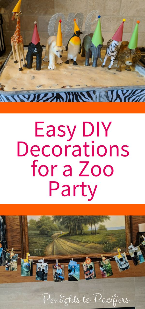 The Complete Guide To A Zoo Themed Party- Decorations