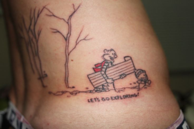 Uhhh… Greg, thats his name, at Seventh Son Tattoo in San Fran. Iam Calvin and I like adventure…