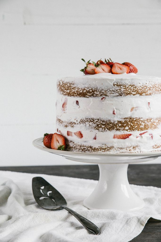 Strawberry Layer Cake.