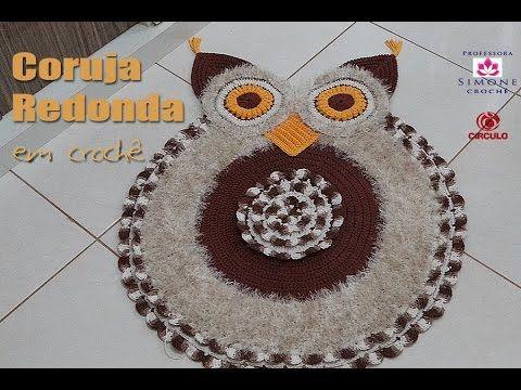 Na aula de hoje a Professora Simone ensina a confeccionar o Passo a passo Coruja Redonda em Crochê ▶ INSCREVA-SE: http://goo.gl/mcBQT2 ▶ Facebook: http://www...