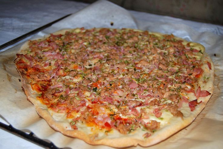 Receta masa pizza/ Recipe Pizza