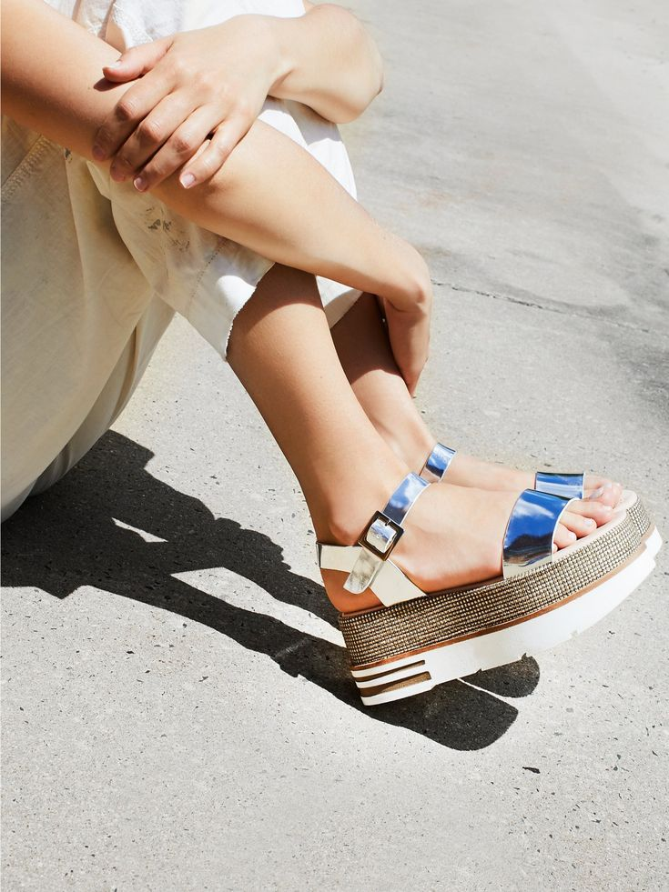Destroy Mellow Flatform Sandal at Free People Clothing Boutique
