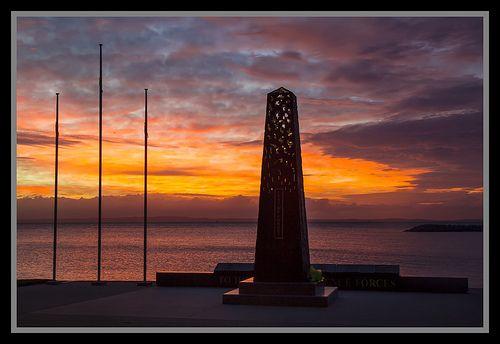 Redcliffe Defence Memorial-Moreton Bay